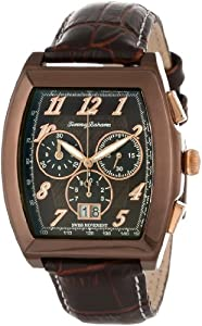 d4a6c2eb7ba Tommy Bahama Swiss Men s TB1242 Islander Brown Ion Plated Case Brown Dial  Rose Gold Chronograph