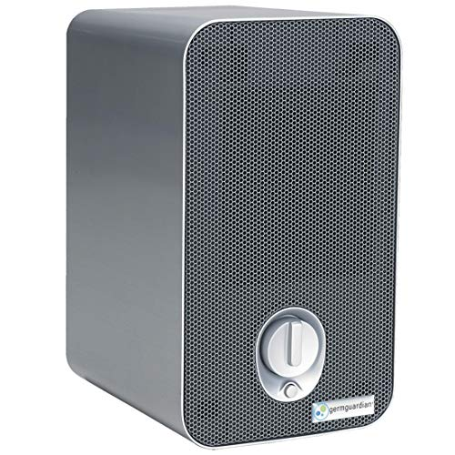 Germ Guardian Desk and Office Air Purifier, HEPA Filter, Filters Allergies, Pollen, Smoke, Dust, Pet...