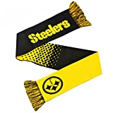 NFL Schal Scarf PITTSBURGH STEELERS Fade Football Fanschal -