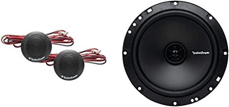 $77 » Rockford Fosgate Prime R1T-S 1-Inch Tweeter Kit & Fosgate R1675X2 Prime 6.75-Inch Full Range 2-Way Coaxial Speaker - Set of 2