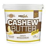Mantequilla de Anacardo de HSN | Crema con Textura Cremosa y Suave | Cashew Butter Smooth | 100% Natural | Vegano, Sin grasa de palma, 1 Kg