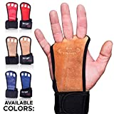 Gymnastics Grips - Gloves for Crossfit - Workout Gloves with Wrist Wraps - Weight Lifting Gloves -...