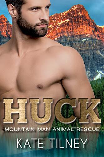 HUCK: a mountain man, curvy woman short and sweet instalove romance (Mountain Man Animal Rescue Book 3) (English Edition)
