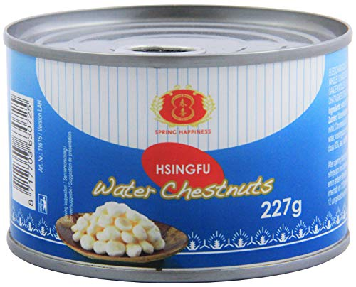 Chinesische Wasserkastanien ganz, Chinese water chestnuts whole (227 G)