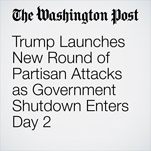 Trump Launches New Round of Partisan Attacks as Government Shutdown Enters Day 2 copertina