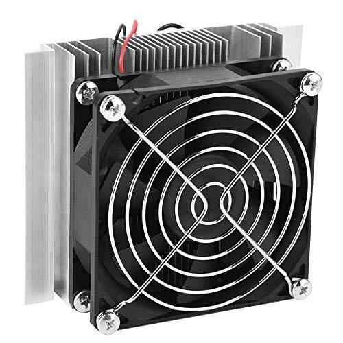 12V 72 W Peltier Termoelettrica Cooler Kit Semiconductor - YWBL-WH Grande Freddo Guida mModulo Doppia Ventole di Raffreddamento