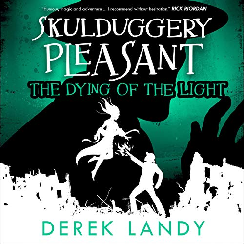 The Dying of the Light      Skulduggery Pleasant, Book 9              By:                                                                                                                                 Derek Landy                               Narrated by:                                                                                                                                 Stephen Hogan                      Length: 18 hrs and 30 mins     Not rated yet     Overall 0.0