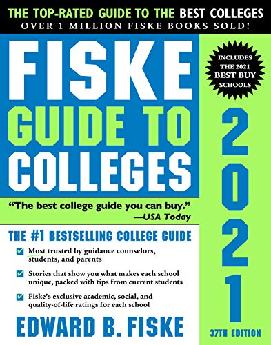 Compare Textbook Prices for Fiske Guide to Colleges 2021 37 Edition ISBN 9781492664963 by Fiske, Edward