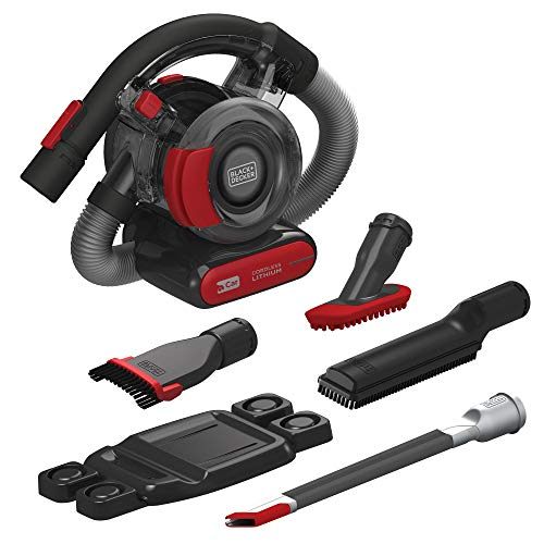 BLACK+DECKER 20V MAX Handheld Vacuum for Car with Accessory Kit (BDH2020FLAAPB)