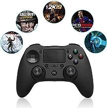 HK Gamepad, Nueva Bluetooth PS4 Gamepad para Playstation Doubleshock4 PS4 Mando de Juegos para el teléfono PS4 Consola de Juegos móvil Android