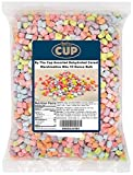 By The Cup Assorted Dehydrated Cereal Marshmallow Bits 10 Ounce Bulk