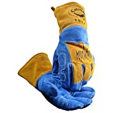 Caiman 1512 Welders and Foundry Gloves Blue L