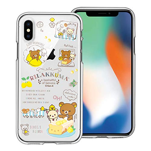 Compatible with iPhone XR Case Rilakkuma Clear TPU Cute Soft Jelly Cover - Rilakkuma Cooking