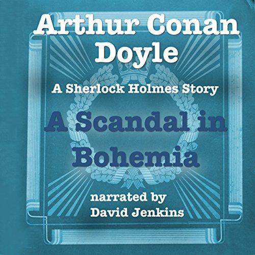 A Scandal in Bohemia audiobook cover art
