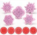 BeautyLife Lace Fondant Blumen Ausstechformen Modellierwerkzeug Ausstecher Keks Stempel Torten