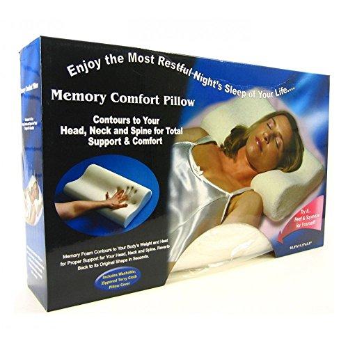 Almohada VISCOELASTICAS ORTOPEDICA con Efecto Memoria - Memory Pillow