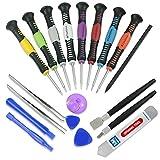 MMOBIEL 20 en 1 Kit Herramientas de Reparación Profesional y Set Destornilladores para Smartphones Tabletas PSP etc.
