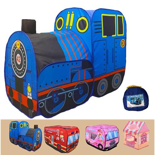 ボールハウス 折りたたみ 電車 機関車 子供用テント セット 子供 キッズ ボールプール 簡単組立 秘密基地 室内遊具 プレゼント キッズテント