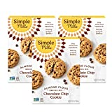 Simple Mills Almond Flour Baking Mix, Gluten Free Chocolate Chip Cookie Dough Mix, Made with whole...