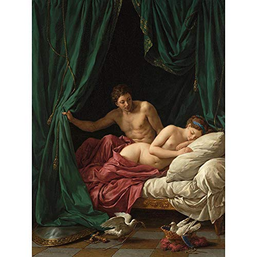 Wee Blue Coo Painting Allegory Roman Lagrenee Peace Mars Venus Unframed Wall Art Print Poster Home Decor Premium