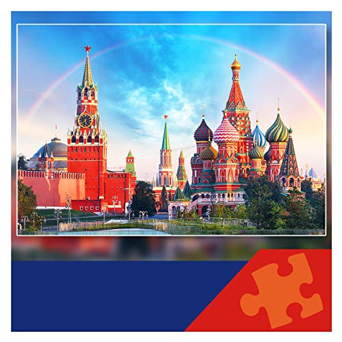 MOZOOSON Puzzle 1000 Piezas Juegos Juguetes Niños Navidad Puzzle Rompecabezas Regalos Hombre Mujer Puzzles para Adultos