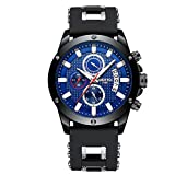 NIBOSI Watches Men's Chronograph Fashion Waterproof Quartz Wrist Watch for Men