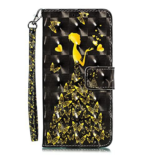 Midmelon 3D Case Butterfly Girl Design