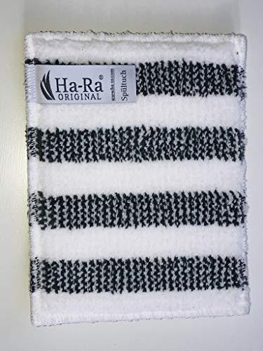 Ha-Ra Spültuch weiß grau