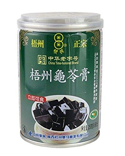 横浜中華街 梧州正宗 亀ゼリー(亀苓膏) 250g(缶)、中国では、美と健康づくりに、デザートとして、よく食べます♪