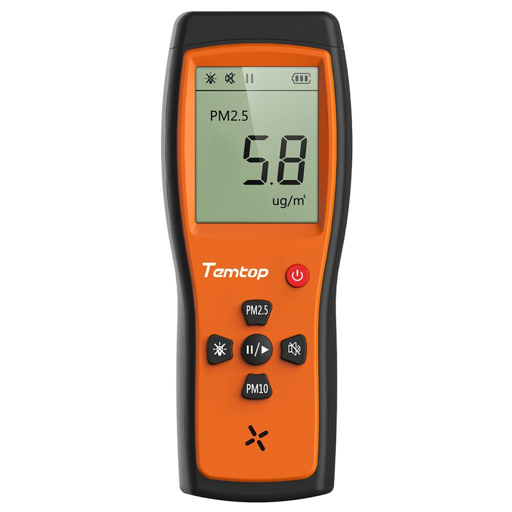 Temtop Air Quality All items in the store Monitor Tampa Mall P200 Sensor PM10 PM2.5 Po Particulate