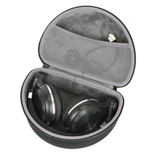 Hard Travel Case for Bluedio T2s / T2 Plus Turbine Wireless Bluetooth Headphones by co2CREA