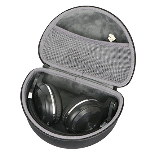 Hard Travel Case for Bluedio T2s / T2 Plus Turbine Wireless Bluetooth Headphones by co2CREA