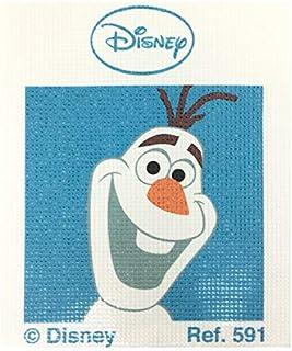 Haberdashery Online Kit Medio Punto para niños, 18 x 15 cms. Colección Frozen - Modelo 591