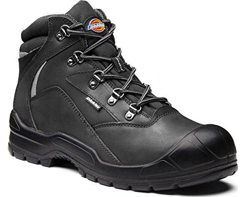 Dickies Davant II-Sicherheits-Stiefel, Größe 8, Schwarz, FA9005S-BK-8