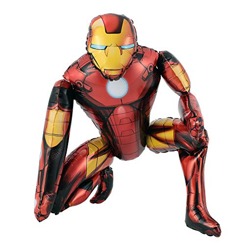 Iron Man Airwalker Balloons Birthday Party Supplies Decorations Set for Kids