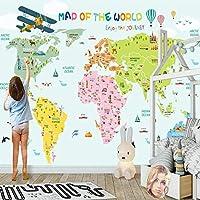カスタム壁壁画壁紙すべてのサイズ漫画世界漫画ワールドキャップ背景男の子の子供部屋の壁の装飾-150cmx105cm不織布プレミアムアートプリントフリース壁壁画装飾ポスターPictur