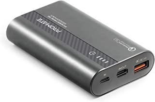Promate Type-C Power Bank, Portable 10000mAh Power Delivery 18W USB-C Two Way Battery Charger with Fast Charging Qualcomm ...
