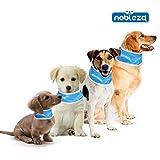 Nobleza 028726 - Collar refrigerante para mascotas 55* 7cm Azul