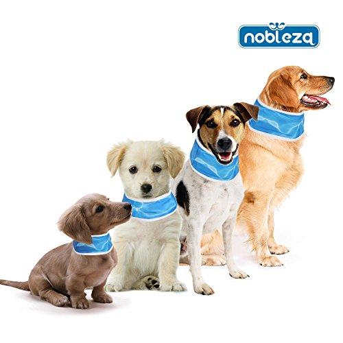 Nobleza 028740 -Collar refrigerante para mascotas 76* 7cm Azul