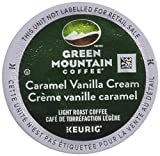 Green Mountain Coffee Caramel Vanilla Cream, K-Cup Portion Pack for Keurig K-Cup Brewers (Pack of 48)