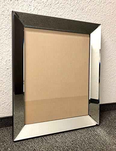 Colmore Edler Bilderrahmen 60x50cm Spiegelrahmen Rahmen Spiegel Glas Fotorahmen Neu
