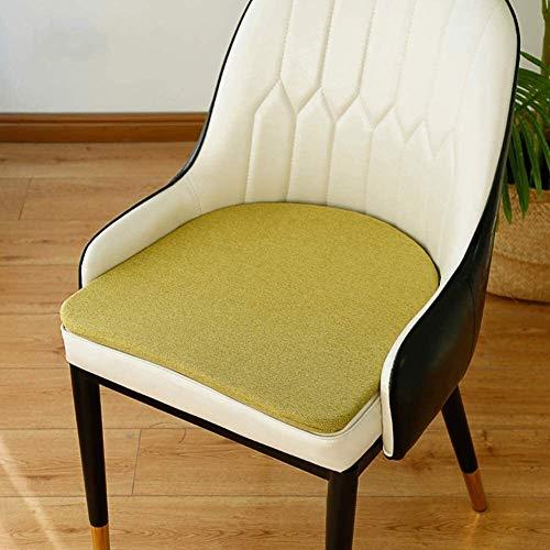 LinXin Super Soft Flexible Sponge Stuhlkissen U-förmig speisende Stuhl-Auflage Food Non Skid waschbare Sitzkissen, Indoor Outdoor Tatami Futon mat (Color : B, Size : 45x45x2cm(18x18x1in))
