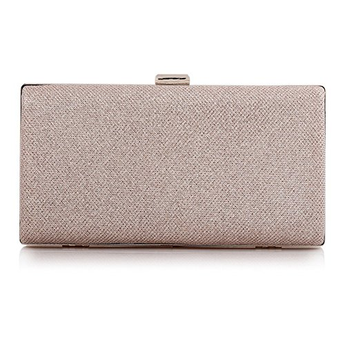 ERGEOB Damen Clutch Diamant Abendtasche Kristall Clutch für Party Hochzeit Theater Kino Event Golden
