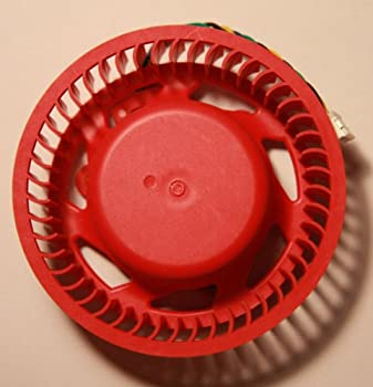 Video Card Red Fan Replacement for ATI/AMD Radeon 7950 7990 6970 6950 5970 5870 5850 5650 4890 4870 and etc  75mm fan 4pin