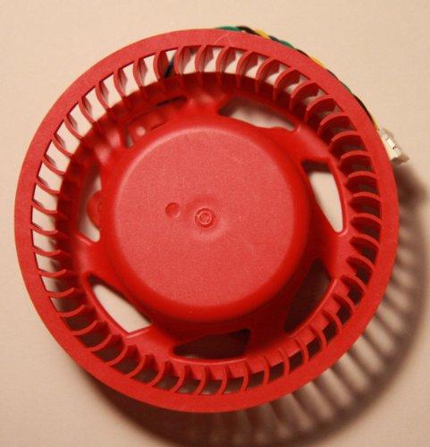 Ecowsera Video Karte Rot Fan Ersatz für ATI/AMD Radeon 7950799069706950597058705850565048904870und Etc. (75mm Fan, 4pol)