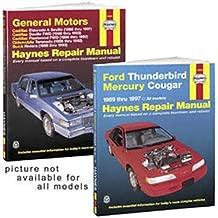 Ford Escort & Mercury Tracer Haynes Repair Manual (1991 - 2002)