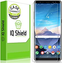 IQShield Screen Protector Compatible with Samsung Galaxy Note 8 (2-Pack)(Case Friendly)(Not Glass) Anti-Bubble Clear Film