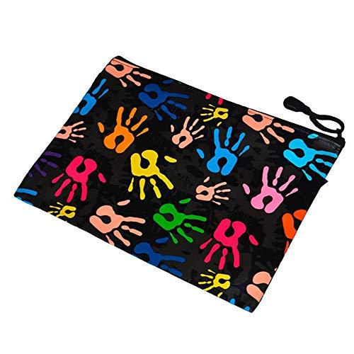 D.RECT Reißverschlusstasche A5 Hände
