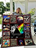 Pink Floyd Quilt - Unique 3D Design, Suitable for All Seasons with Mellow Cotton Material Comfortable and Luxurious.