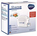 BRITA Maxtra + Water Filter Cartridges Pack 12, White
